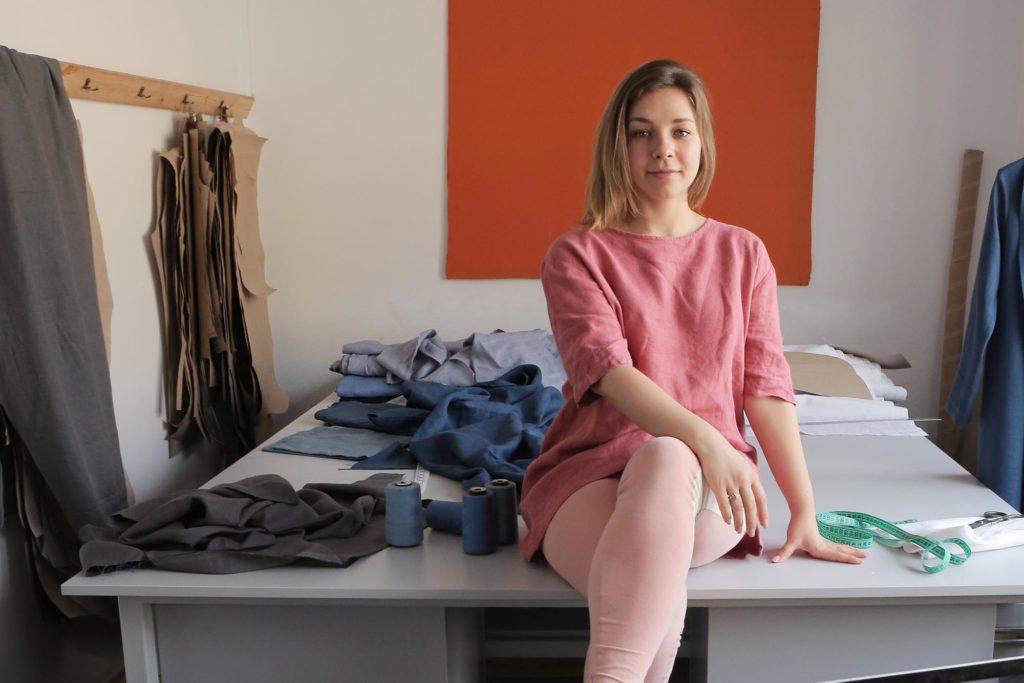 Ann, Black Ficus clothing brand owner