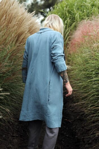 bathrobe, men's linen bathrobe, men's homewear, men's fashion