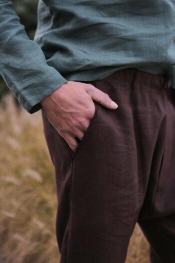 men's pants, linen pants, men's fashion