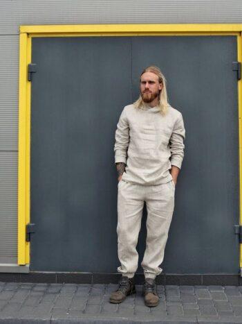 men's linen set
