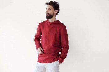 linen hoodie