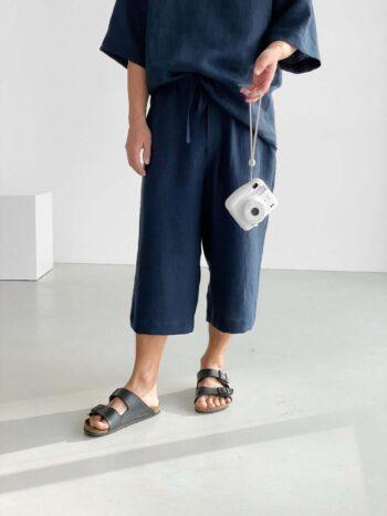 Mens loose linen pants